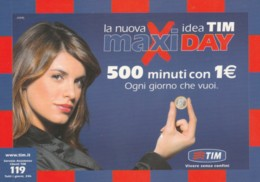 CARTOLINA TIM - PROMOZIONALE (PK2946 - [2] Sim Cards, Prepaid & Refills