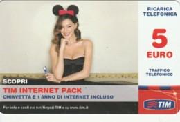 RICARICA- ITALIA TIM (PK2411 - [2] Sim Cards, Prepaid & Refills