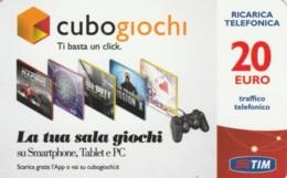 RICARICA- ITALIA TIM (PK2443 - [2] Sim Cards, Prepaid & Refills