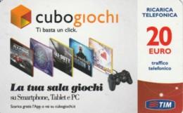 RICARICA- ITALIA TIM (PK2447 - [2] Sim Cards, Prepaid & Refills