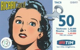 RICARICA- TIM 8 LUG2000 (PK2707 - [2] Sim Cards, Prepaid & Refills