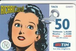 RICARICA- TIM 8 SET2000 (PK2713 - [2] Sim Cards, Prepaid & Refills
