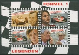 Österreich 2009 Formel-1-Fahrer Legenden Block 51 Gestempelt (C93725) - Blocks & Kleinbögen