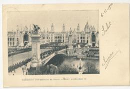 75-38 - Exposition Universelle De Paris - Pont Alexandre III - Exposiciones