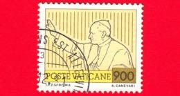 VATICANO - 1981 - Usato - Viaggi Di Giovanni Paolo II Nel 1980 - 900 L. • Il Papa Benedicente - Vatican