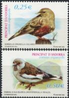 ANDORRA Spanish 2002 Birds Animals Fauna MNH - Birds