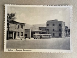 LATINA STAZIONE FERROVIARIA  1955 - Latina