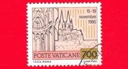 VATICANO  - USATO - 1981 - Viaggi Di Giovanni Paolo II Nel 1980 - Viaggio In Germania - 700 - Vatican