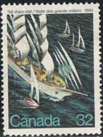 Canada 1984 Yv. N°870 - Visite Des Grands Voiliers à Québec, Jacques Cartier - Oblitéré - 1952-.... Reign Of Elizabeth II