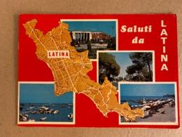 SALUTI DA LATINA  1970 - Latina