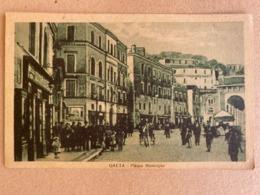 GAETA PIAZZA MUNICIPIO 1929 - Latina