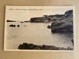 GAETA RIVIERA DI FONTANIA : ROCCE,TREMOLII E RUDERI  1934 - Latina