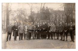 Köln, Besucher Vor Adolf Kolping Denkmal, Foto Postkarte - Koeln