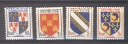 France  :  Yv  951-54  ** - Francia