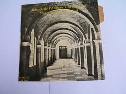 45 Tours SCHOLA DE L'ABBAYE CISTERCIENNE NOTRE DAME DE BELVAL - SAINT POL SUR TERNOISE TROISVAUX - Gospel & Religiöser Gesang