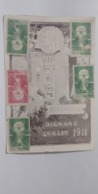 CARTOLINA VIAGGIATA A SANVINCENTI DIGNANO LUGLIO 1911 PER LA LEGA RARISSIMA BUONO STATO - Postales