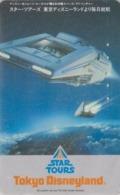 Rare Télécarte Japon / 110-011 - DISNEY - STAR TOURS ** George Lucas ** - Japan Cinema Movie Film Phonecard - Disney