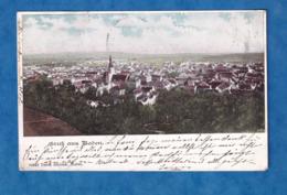 CPA  - Gruss Aus BADEN Bei WIEN - 1901 - RARE - Anton Schilcher - Baden Bei Wien