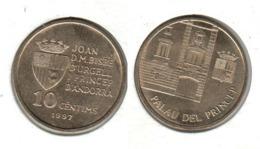 ANDORRE 10 Centims 1997  10c - Andorra