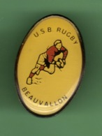 RUGBY *** U.S.B. BEAUVALLON *** 1056 (122) - Rugby
