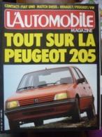L'Automobile Magazine N°440: Tout Sur La Peugeot 205/ Mensuel, Février 1983 - Auto/Moto