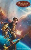 RARE Télécarte Japon / 110-011 - DISNEY - TREASURE PLANET - Japan Cinema Movie Film Phonecard - Disney