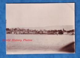 Photo Ancienne - NYON - Vue D'ensemble - 1905 - Lac Léman Vaud Lausanne Suisse Thonon - Bateaux
