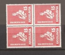 1952  696   JUGOSLAVIJA JUGOSLAWIEN  KINDERWOCHE      LUX MNH - 1945-1992 Repubblica Socialista Federale Di Jugoslavia