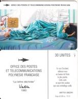 FRENCH POLYNESIA - La Lettre Dechiree 3, Chip GEM1.2, Tirage %60000, 01/97, Used - Französisch-Polynesien