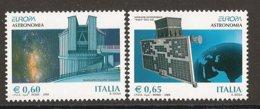 "ITALIA / ITALY /ITALIEN / ITALE- EUROPA 2009 - TEMA ""ASTRONOMIA"" - SET Of 2 Stamps PERFORATED - Europa-CEPT"