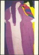Carte Postale - Walasse Ting - Do You Like My Lavender Robe - TTBE - Non Voyagé - Peintures & Tableaux