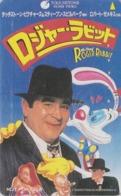 Télécarte Ancienne Japon / 110-011 - DISNEY - WHO FRAMED ROGER RABBIT ? - Japan Movie Cinema Phonecard Lapin / NFS - Disney