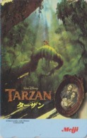 Télécarte NEUVE Japon / 110-016 - DISNEY - Film TARZAN - Japan MINT Movie Phonecard Telefonkarte * MEIJI * - Disney