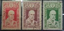 INDOCHINE 1943/44 - Canceled - YT 286, 287, 291 - 6c 15c 1$ - Usati