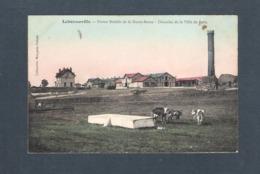 95 - LABONNEVILLE - FERME MODELE DE LA HAUTE BORNE - Domaine De La Ville De PARIS -  ( Vaches - Cheval) - Frankreich