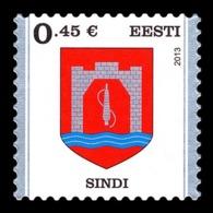 Estonia 2013 Mih. 758 Definitive Issue. Arms Of Sindi MNH ** - Estonia