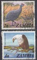ZAMBIA - 1975 - Lotto Composto Da 2 Valori Usati: Yvert134 E 136. - Zambie (1965-...)