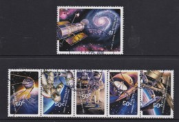 Australia 2007 Blast Off! Space 50 Years Set Of 6 Used - Gebraucht