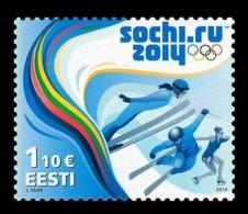 Estonia 2014 Mih. 782 Olympic Winter Games In Sochi MNH ** - Estonia