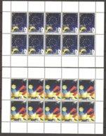 """KOSOVO/  KOSOVA REPUBLIC - EUROPA 2009  - TEMA  """"ASTRONOMIA"""" - TWO SHEET Of 10 Stamps  - PERFORATED - Europa-CEPT"""