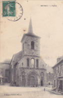 CPA 19 @ MEYMAC - L'Eglise En 1908 - CORREZE @ Librairie F. Janicot à Meymac - France