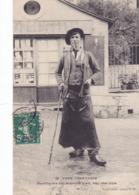 CPA 19 @ USSEL - TYPE USSELLOIS FUMANT LA PIPE En 1907 - Ussel