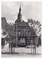 Rüthen - Fachwerkhaus Mit Der St.-Nikolaus-Kirche - Lkr. Soest - Soest