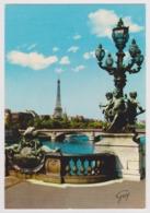 75 - PARIS - Le Pont Alexandre III, La Seine ... - Ed. GUY N° 5153 - 1974 - The River Seine And Its Banks
