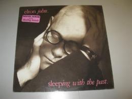"""VINYLE ELTON JOHN """"SLEEPING WITH THE PAST"""" 33 T HAPPENSTANCE / PHONOGRAM (1989) - Vinyl-Schallplatten"""