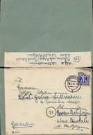634024,Brief Stadthagen Zensuriert Braunhagen Rinteln Irrläufer 1946 Oh. Inh. - 1939-45
