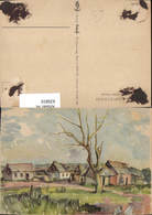 635810,WK 2 Kriegsberichter Hensel Sowjetdorf Russland Russia - 1939-45