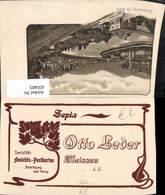 635403,Reklame AK Otto Leder Meissen Sepia Ansichtskartenverlag Handlung Verlag - Werbepostkarten