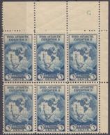 USA - 1933 - Sei Yvert 323, Nuovi MNH, Uniti Fra Loro, Con Margini E Angolo Di Foglio. - Unused Stamps