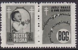 POLAND 1948 Anti-TB Fi 485 Pw4 Mint Hinged - Unused Stamps